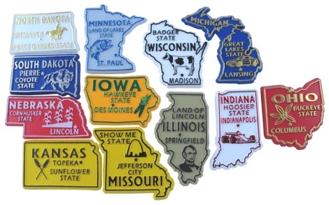 state_magnets_midwestern_united_states